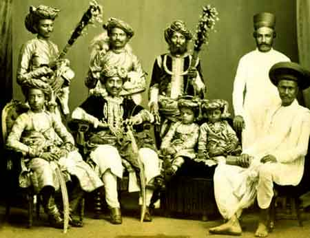 differen princely states of gujrat